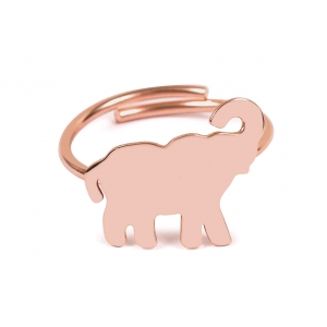 ELEPHANT RING IN ROSE GOLD